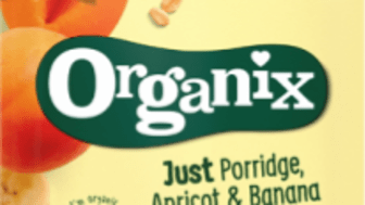 7491 Organix just porrige apricot and banana