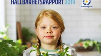 Omslag Hållbarhetsrapport 2019
