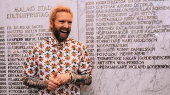 Rickard Söderberg är Malmö stads kulturpristagare 2021