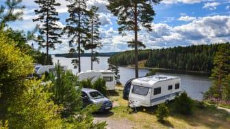 Sommarvik Camping i Värmland. Foto: Johanna Fransson