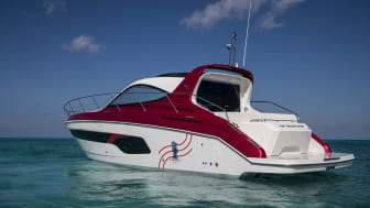 Yanmar's X47 Express Cruiser will be the Offcial VIP Cruiser of the 36th America's Cup presented by Prada.