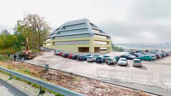 Hogia expanderar och bygger ett nytt kontor för att skapa utrymme för 200 nya medarbetare