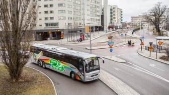 Succé för Flygbussar till Liljeholmen