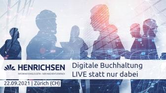 HENRICHSEN AG informiert über Digitalisierung in der Buchhaltung. Bild HENRICHSEN AG