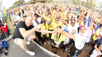 More than 30,000 people take part in the Discovery East Coast Radio Big Walk