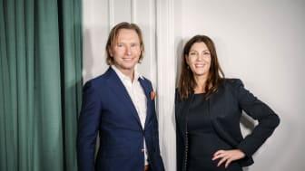 Johan Tilander och Catarina Göthberg