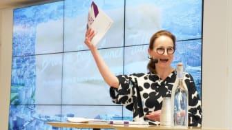 Ulrika Årehed Kågström, generalsekreterare för Cancerfonden