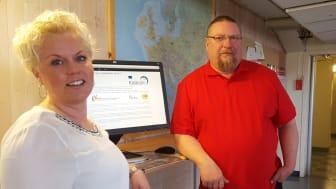 Till utbildningen kan man söka genom arbetsförmedlingen. berättar, Pilvi Ryökkynen och Alf Töyrä, utbildningschefer för bygg- respektive teknik och industriutbildningarna.