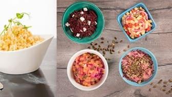 Rotfruktsstavar Rotfruktstagliatelle, Rotfruktsbas och Palsternacksris är några av de 100 rotfruktsartiklar som ingår i varumärket 3N Produkters sortiment. Produkter som tillverkas i Helsingborg.