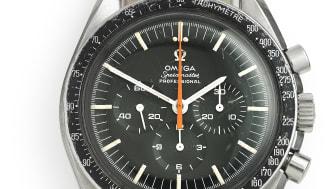 """Omega: Model Speedmaster """"Ultraman"""". Estimate: DKK 80,000."""