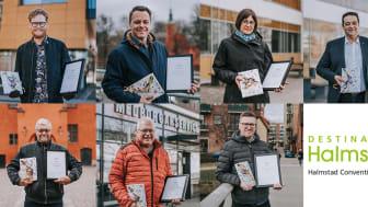 Vi har diplomerat Halmstads fantastiska mötesambassadörer! Foto: Joakim Leihed.