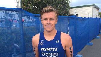 Casper Stornes ble nummer 19 i Gold Coast WTS