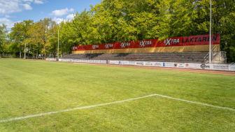 Matcher och tävlingar tillåts på kommunala utomhusanläggningar från 1 juni. Foto: Sölvesborgs kommun