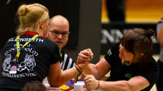 Sveriges bästa armbrytare till Arenan