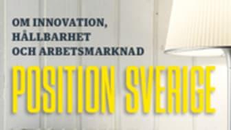 Ny bok: Position Sverige - om innovation, hållbarhet och arbetsmarknad