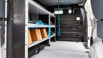 SmartVan - ett lättmonterat inrednings- och utrustningskoncept för transportbilar och lätta lastbilar.