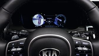 Et videofeed på en skærm i førerens instrumentenhed, skal hjælpe føreren med at undgå kollisioner med det der måtte være skjult i den blinde vinkel.