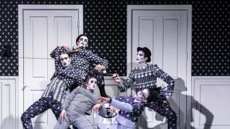 Djurens karneval i ny koreografi av Marcos Morau spelas på Skånes Dansteater 25 april - 10 maj 2020. Världspremiären sker i Falkenberg 29 feb 2020.
