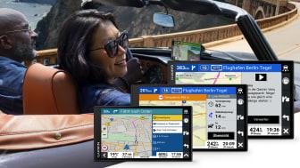 LA NOUVELLE SERIE DE GPS GARMIN DRIVESMART FACILITE LA CONDUITE GRACE A DES ECRANS PLUS GRANDS