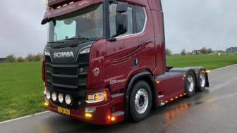 Superfin Scania R 650'er til Esben Beck