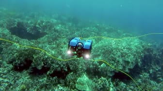 Web image - OINA 2017 - Blue Robotics will showcase its high performance, affordable underwater drone, the BlueROV2 at OINA 2017