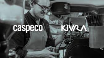 Caspeco möjliggör digitala restaurangkvitton i Kivra
