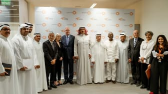 Al Sumait Prize Board of Trustees and support staff following agreement on 2019 food security category winners.