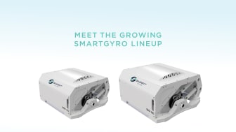 The Smartgyro SG40 and SG80 gyroscopic stabilizers