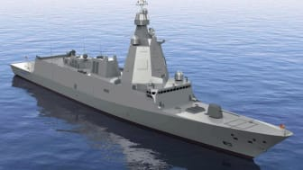 The Spanish Navy's forthcoming F110 frigates will be equipped with twin Kongsberg Kamewa CPP systems