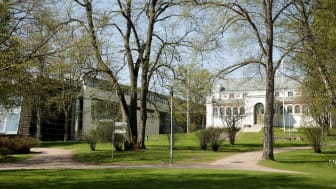 Smålands museum och Sveriges glasmuseum. Foto: Kulturparken Småland