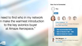 """""""Pathfinder"""" hilft LinkedIn-Nutzern, ihre Netzwerk besser zu verstehen"""