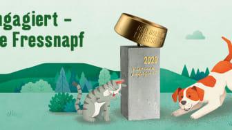 Statt 15.000 Euro vergibt die Jury mehr als 30.000 Euro an nationale Tierschutzprojekte