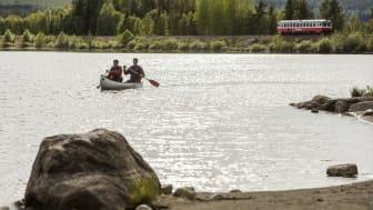 Paddla kanot Dorotea