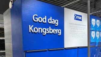JYSK åpner nye lokaler i Kongsberg