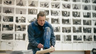 Knutte Wester, under arbetet med filmen Horungen (2012–2016) Foto: Simon Öhman Jönsson