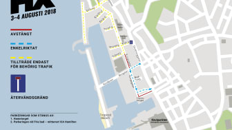 Extra bussar, fri parkering och bemannad cykeluppställning under Hx!