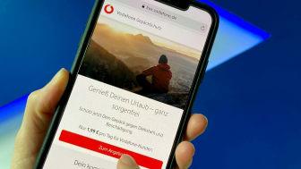 """Vodafone und Zurich entwickeln gemeinsam die digitale Reisegepäck-Kurzzeitabsicherung """"GepäckSchutz"""""""