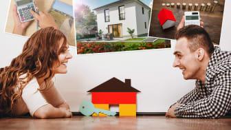 Die Deutschen sind laut Studie ein Volk von Mietern und glauben, dass ein Eigenheim zu teuer ist – nicht mit Town & Country Haus!