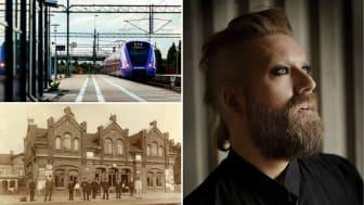 Den 12 december invigs Lommabanan och Furulund station med pompa och ståt - digitalt. Följ med på den digitala invigningsresan som bland annat bjuder på historiska tillbakablickar, bandklippning och musik med operasångaren Rickard Söderberg.