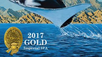 Manta Ray är namnet på Ballast Point Brewings guldvinnande dubbel-IPA.