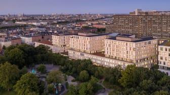 Nordfløjen, Rigshospitalet (Foto: Adam Mørk / LINK Arkitektur)