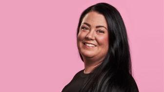 Louise Westberg, e-fakturaexpert på Hogia
