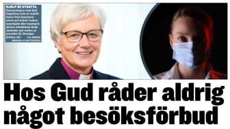 Presidiet för Sveriges kristna råd skriver idag på Expressen debatt (24 december 2020).