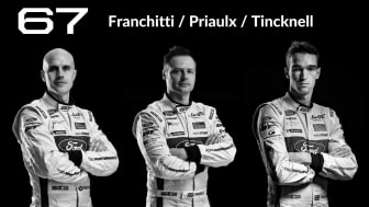 Fords förare: Marino Franchitti, Andy Priaulx och Harry Tincknell.