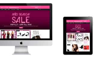Nelly.com lanserar site med ny design