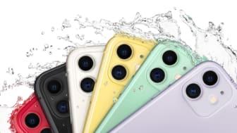 iPhone 11 er for anden måned i træk den mest solgte telefon hos 3