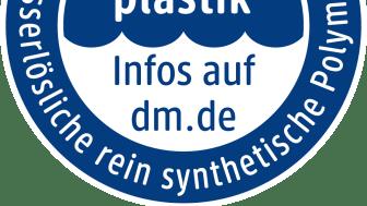 """Störer """"Ohne Mikroplastik, ohne wasserlösliche synthetische Polymere"""""""