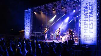 Live-Musik-Spektakel bei den Hephata-Festtagen 2019: Aufgrund der Corona-Pandemie sind solche Bilder in diesem Jahr nicht denkbar.