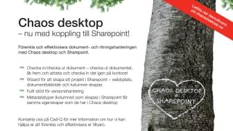 Chaos desktop 5 med ny SharePoint-koppling