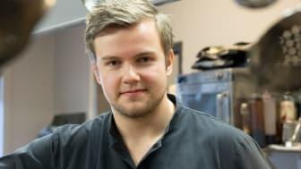 Max Apelqvist, ny kökschef på Restaurang Astern. Foto: Nadia Tahir/Pulsen